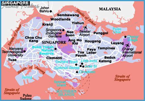 singapore map tourist attractions singapore map tourist attractions travelsfinders