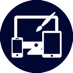 web development icon logo doozy labs creative design