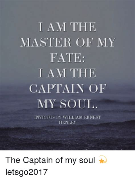 master of my fate captain of my soul tattoo am the master of my fate i am the captain of my soul