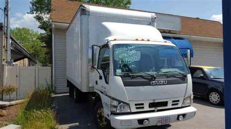 isuzu npr gas 2006 box trucks