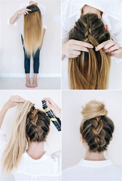 Easy Braided Hairstyles For by 10 Easy Braided Hairstyles For 2016