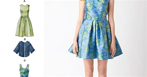 New Keyko Dress Vs catford is sew chic battle of the prom dresses simplicity vs new look