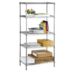 home design products 5 tier heavy duty shelving 5 tier heavy duty steel wire rack shelf storage shelving