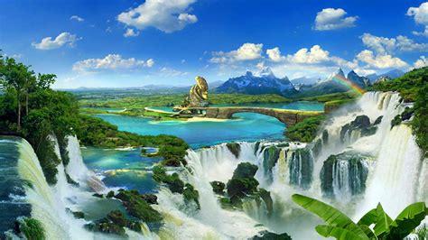 imágenes de paisajes wasap fondo escritorio paisaje bonitas cataratas