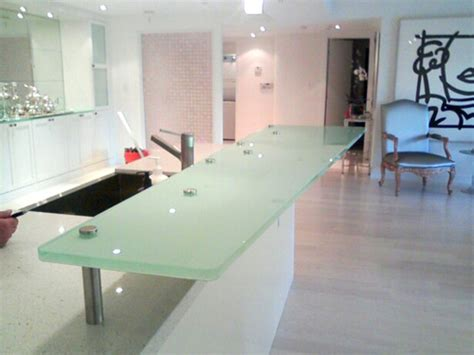 glass bar top glass countertops glass counter tops