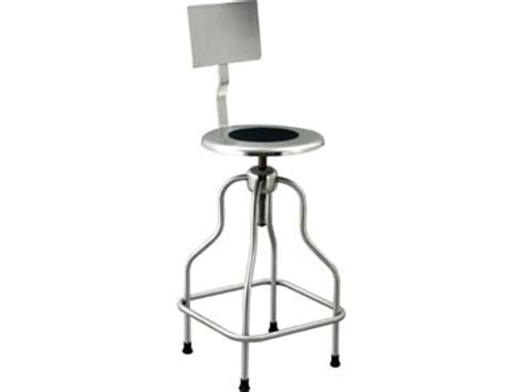 Stainless Steel Stools For Cleanroom by Stool Stainless Steel With Back