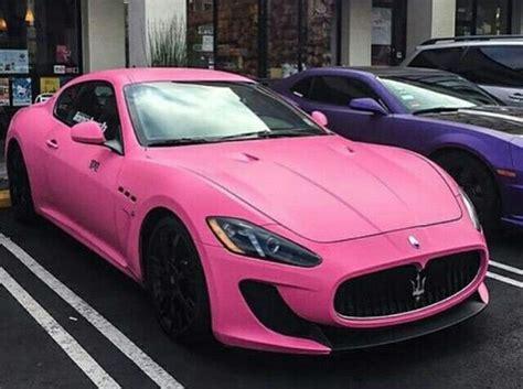 pink maserati pink maserati pink rods