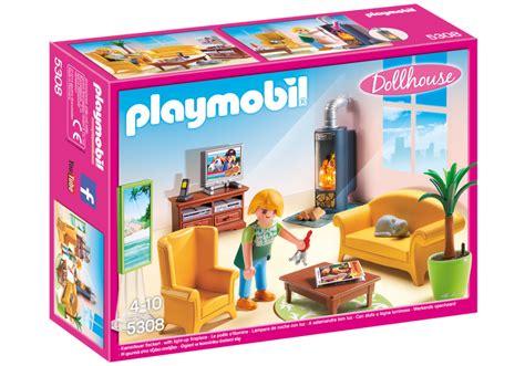 playmobil wohnzimmer playmobil set 5308 wohnzimmer mit kaminofen klickypedia
