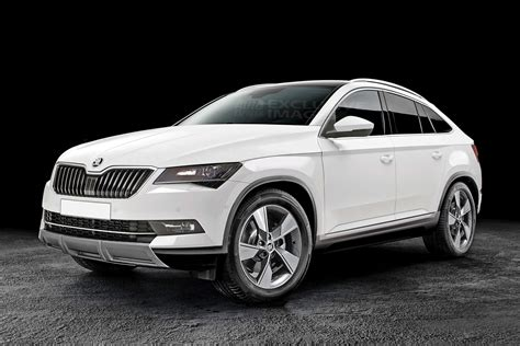 skoda jeep new skoda kodiaq coupe is still on the cards for europe