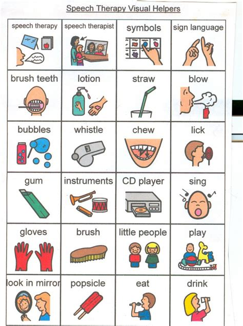 Autism Picture Cards living well with autism speech therapy picture cards and
