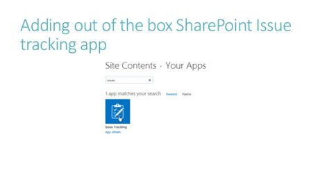 Sharepoint Issue Tracking Template by Sharepoint Workflow Project Management