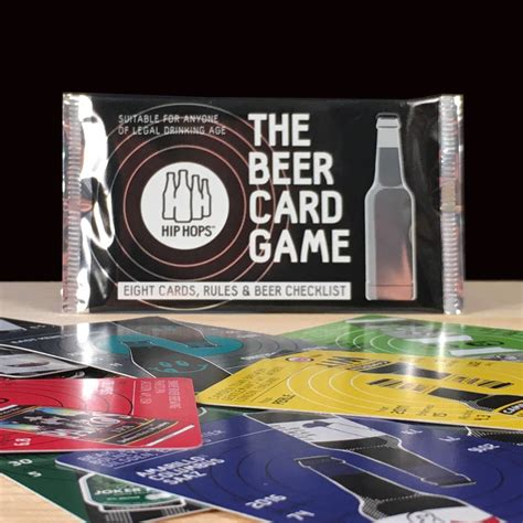 Beer Gift Card - beer card game and craft beer gift set by hip hops notonthehighstreet com