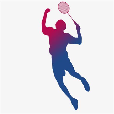 clipart badminton badminton silhouette badminton clipart