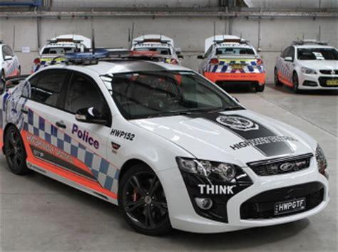 DJR tune NSW highway patrol behemoth Falcon   Speedcafe