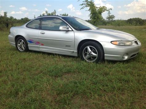 2000 grand prix transmission used pontiac grand prix html buy used no reserve 2000 pontiac grand prix gtp daytona limited edition supercharged in new