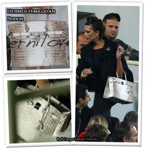In Beckhams Closet Marc Carpet Fashion Awards 3 by In Beckham S Closet Hermes Himalayan Birkin