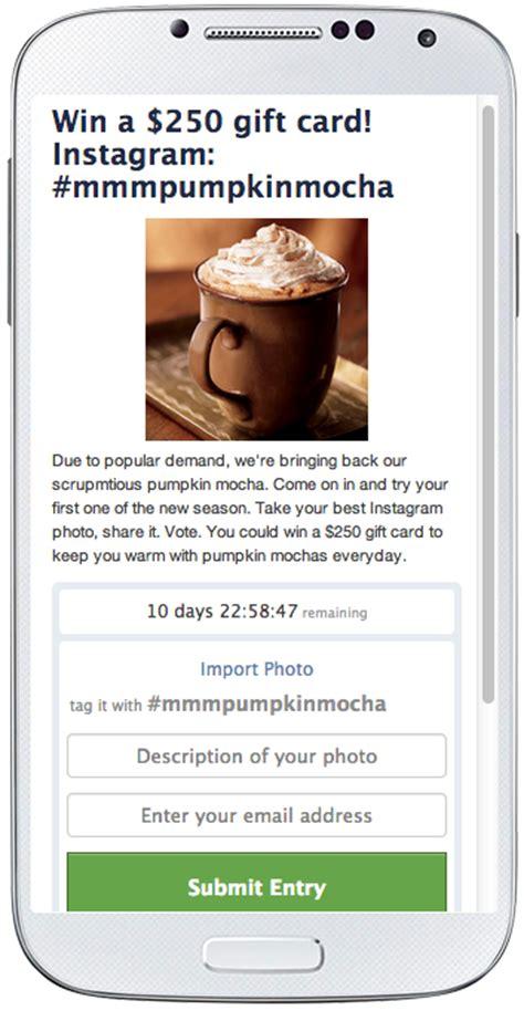 Instagram Giveaway App - wishpond launches instagram photo contest app