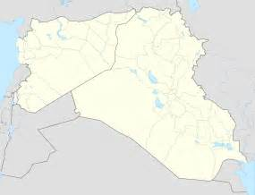 Iraq And Syria Map by Syrian And Iraqi Insurgency Detailed Map Is Located In