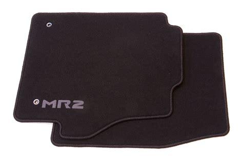 Original Toyota Floor Mats genuine toyota luxury mr2 textile floor mats black set of 2 tailored