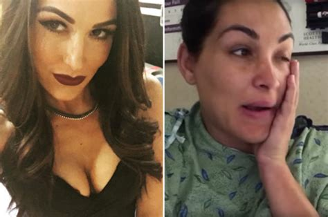 brie bella x factor wwe star brie bella in hospital rush with husband daniel