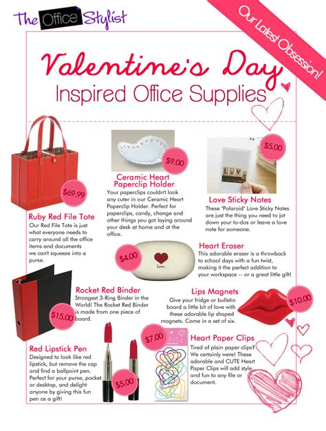 office valentines valentines day at the office chic office supplies
