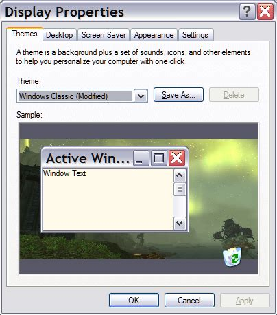 pc themes for windows xp copy desktop themes to other windows xp computers