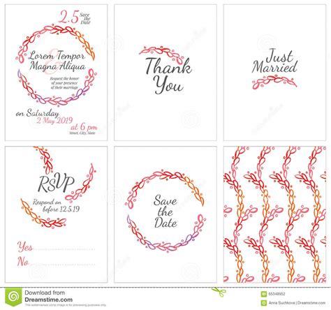 dribbble happy wedding gentle by marusha vector gentle wedding cards template vector illustration