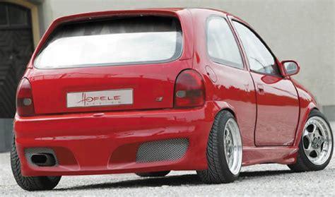 gt  rear bumper spoiler  opel corsa  spoiler shopcom