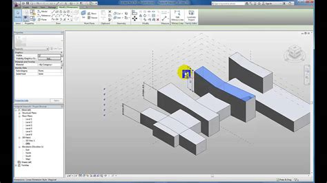 tutorial revit massing revit tutorials conceptual massing working with