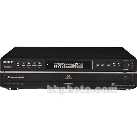 format cd players use sony scd ce595 dsd format sacd and cd player scdce595 b h