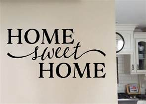 home sweet home home sweet home version 1 vinyl wall wall decal quote