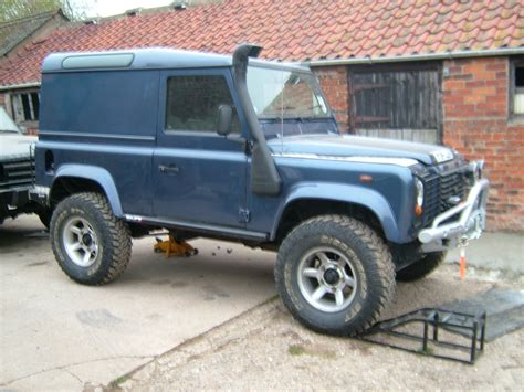 land rover snorkel land rover defender 300 series march 94 lrs offroad