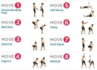 kettlebell swing workout for beginners more easy kettle bell easy exercise pinterest