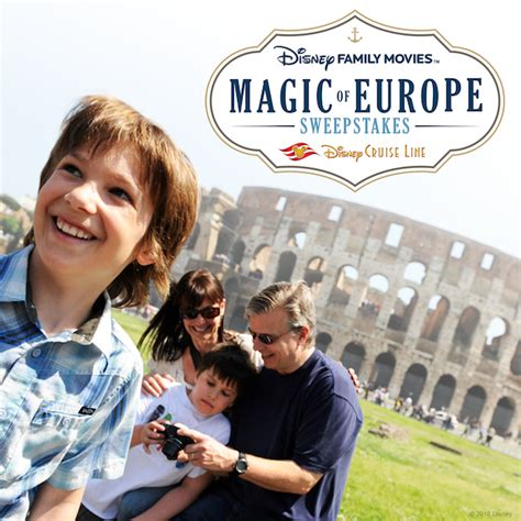 Europe Sweepstakes - enter the disney family movies magic of europe sweepstakes now through december 19
