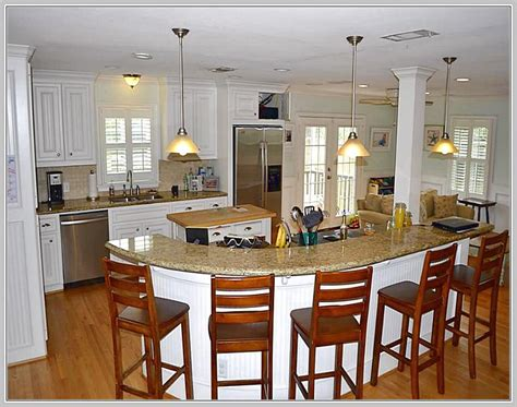 kitchen islands that seat 6 kitchen island seating for 8 home design ideas