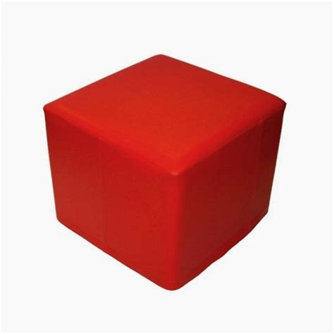 red cube ottoman office furniture hire elite ottoman cube red