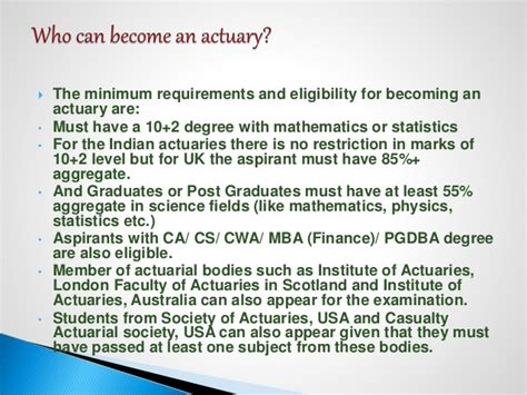 Mba Or Actuarial Science by Actuarial Science Seminar Complete Information Indian Iai