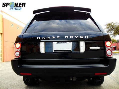 range rover rear 2005 2012 range rover hse rear top wing spoiler