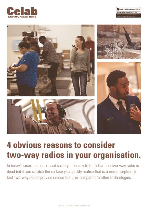 4 Reasons You Chapped And 4 Ways To Stop It by 4 Reasons To Consider Two Way Radio In Your Organisation
