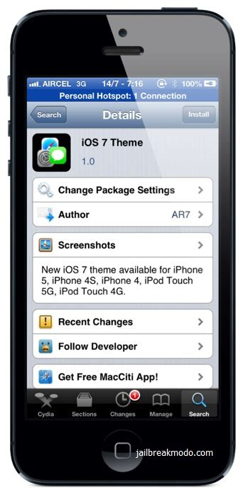 download ios 7 theme for ios 6 from cydia how to download ios 7 theme from cydia syncios manager