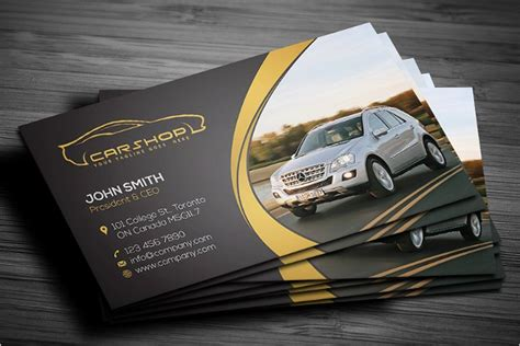 car radar business card template 28 auto repair business card templates free psd design ideas