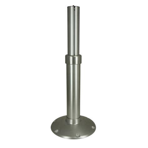 Springfield Adjustable Pedestal springfield mainstay adjustable pedestal adjusts from 24 quot to 30 1 2 quot west marine
