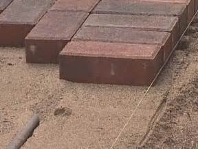 Thin Pavers For Patio To Install Pavers Over Concrete Homeoofficee Com
