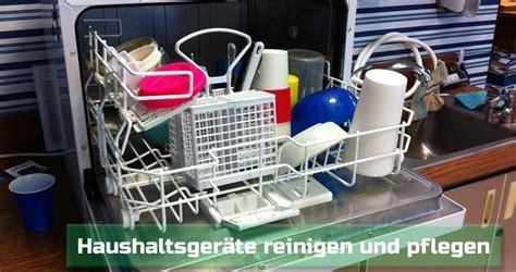 Waschmaschine Richtig Reinigen by Geschirrsp 252 Ler Und Waschmaschinen Richtig Reinigen