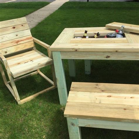 rolling cooler with built in picnic table cooler picnic table images table decoration ideas