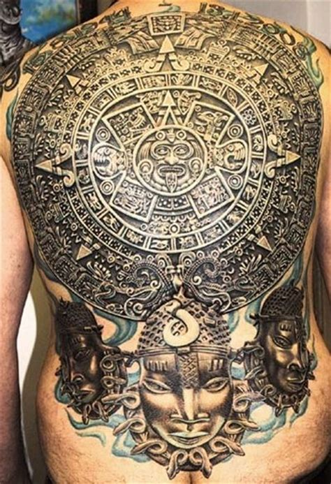 aztec calendar tattoo 100 s of aztec design ideas pictures gallery