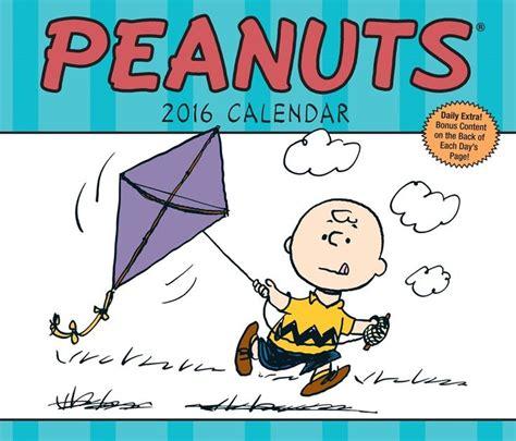 charlie brown desk calendar 17 best images about 2016 comics calendars on pinterest