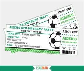 soccer invitation soccer birthday invitation soccer