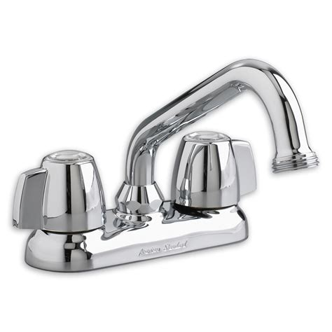 shop american standard chrome 2 handle utility sink faucet
