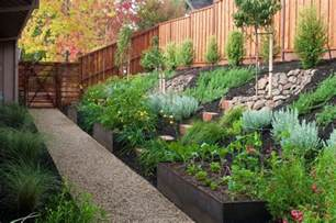 Sloped Backyards by How To Turn A Steep Backyard Into A Terraced Garden